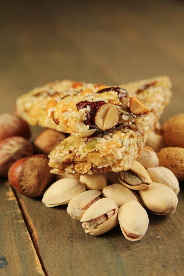 Bar de granola images stock