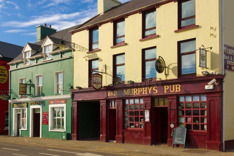 Bar de Murphys Rua da costa dingle ireland foto de stock