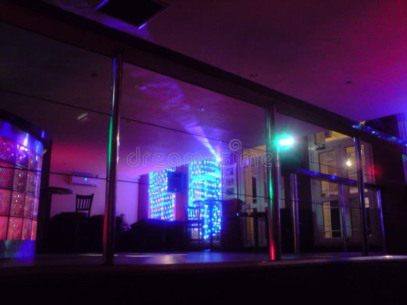 Bar de nuit photo libre de droits