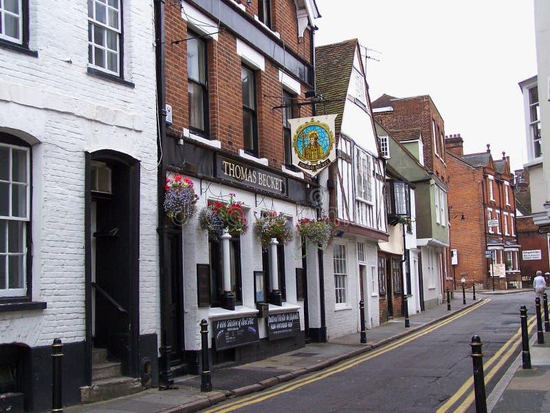 Bar de Thomas Becket em Canterbury imagens de stock royalty free