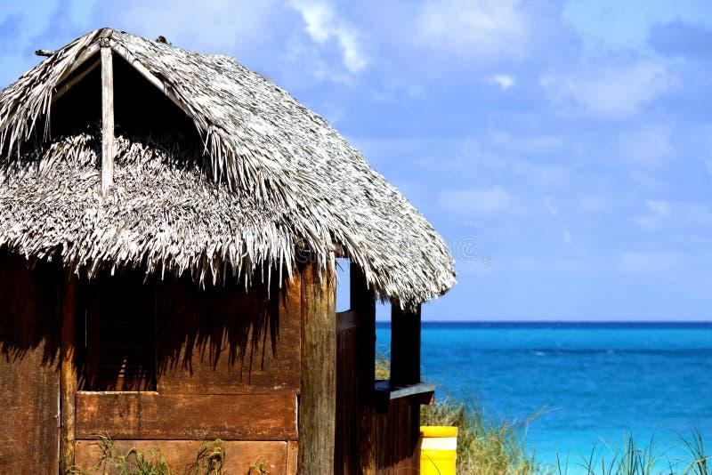 Bar door het strand stock foto