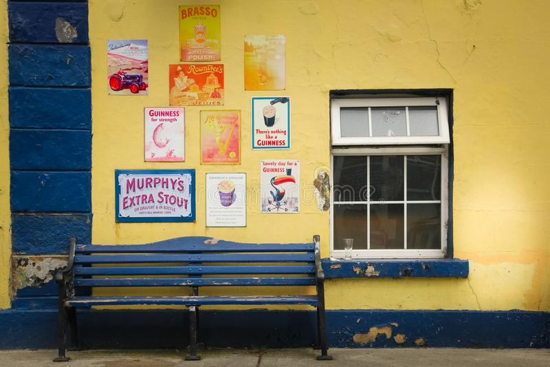 Bar du ` s de Fitzgerald Avoca Wicklow l'irlande photos libres de droits