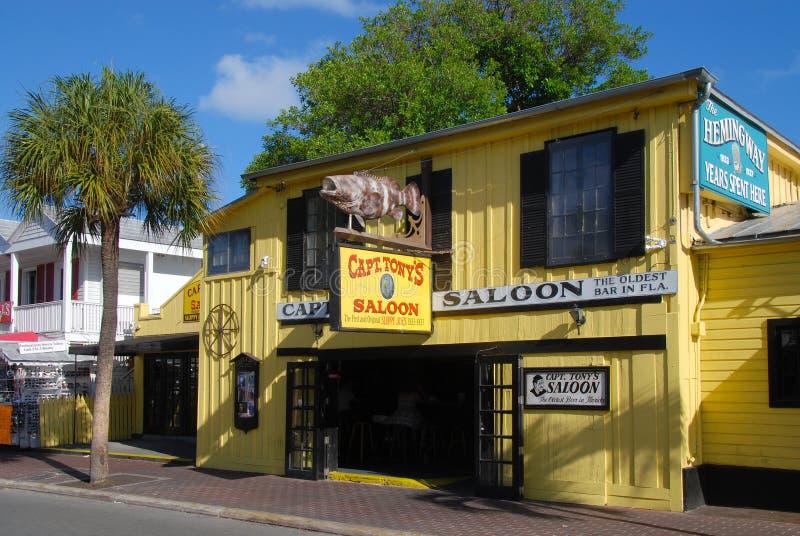 Bar em Key West fotos de stock