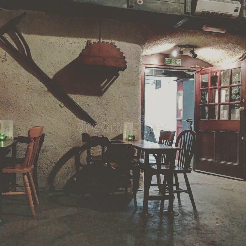 Bar em Londres imagens de stock