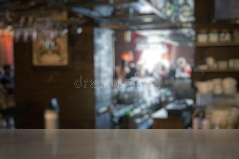 Bar em um clube imagens de stock royalty free