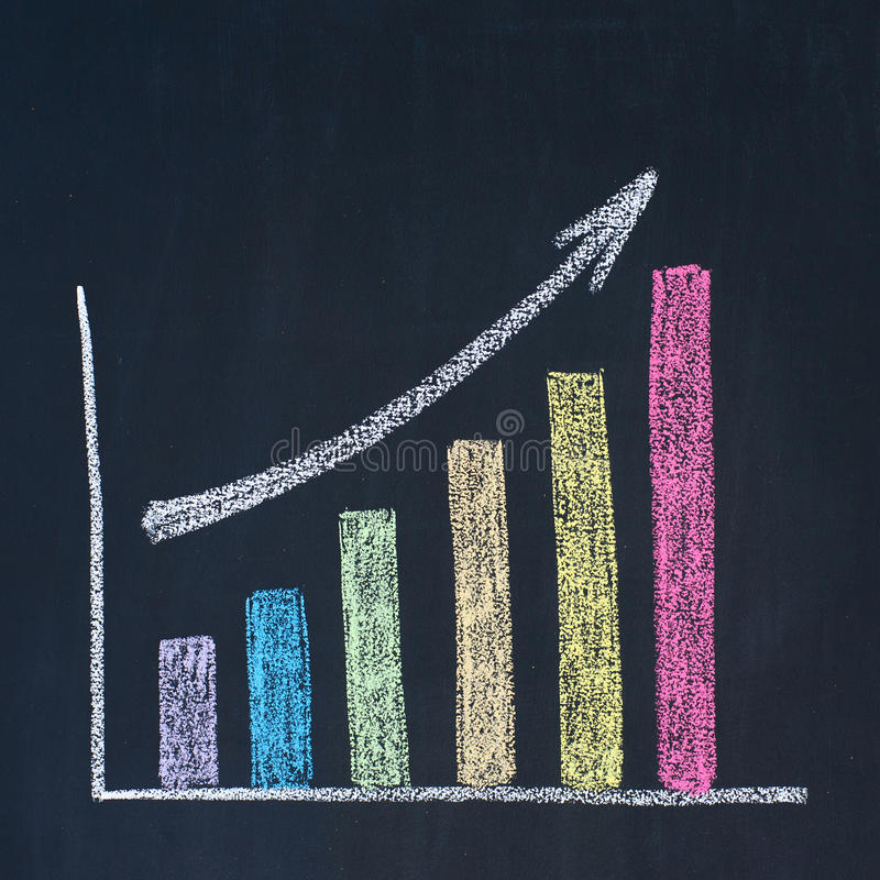 Download Bar graph stock illustration. Illustration of column - 24093398