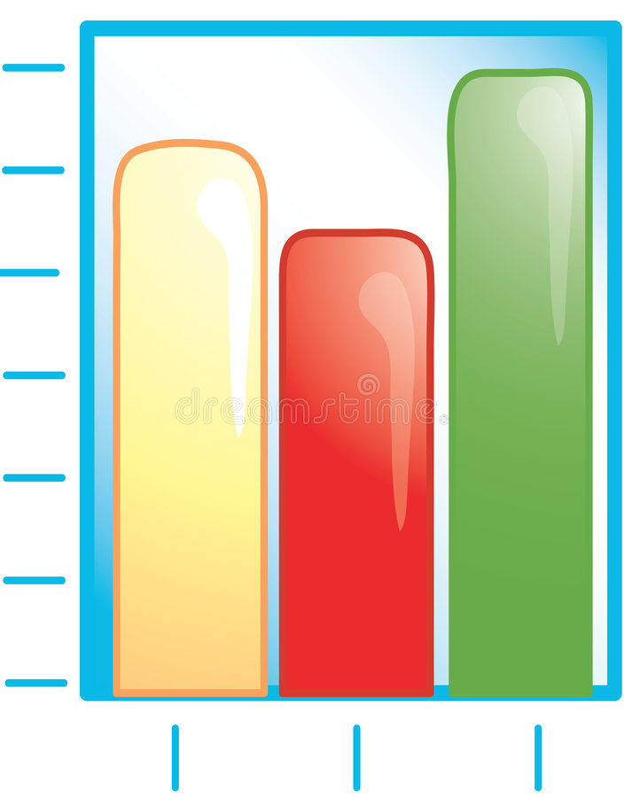 Download Bar graph Icon stock photo. Image of button, bullet, income - 2435388