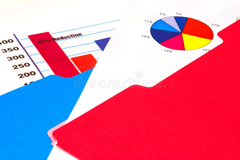 Download Bar Graph And Pie Chart Stock Photo - Image: 1394080