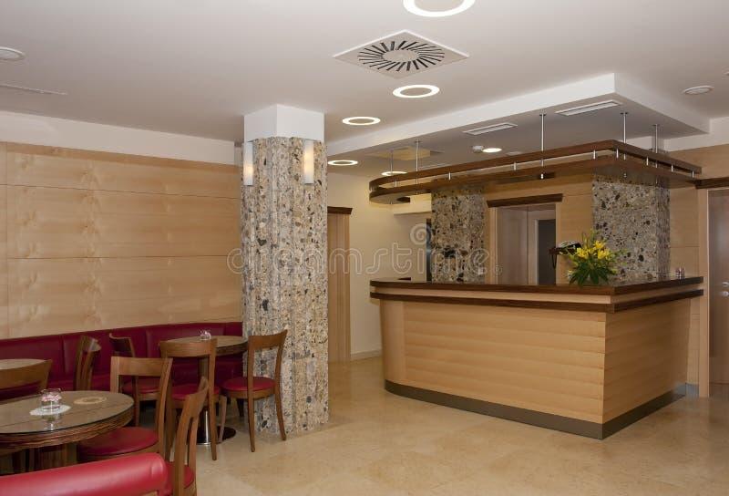 Bar in a hotel stock photos