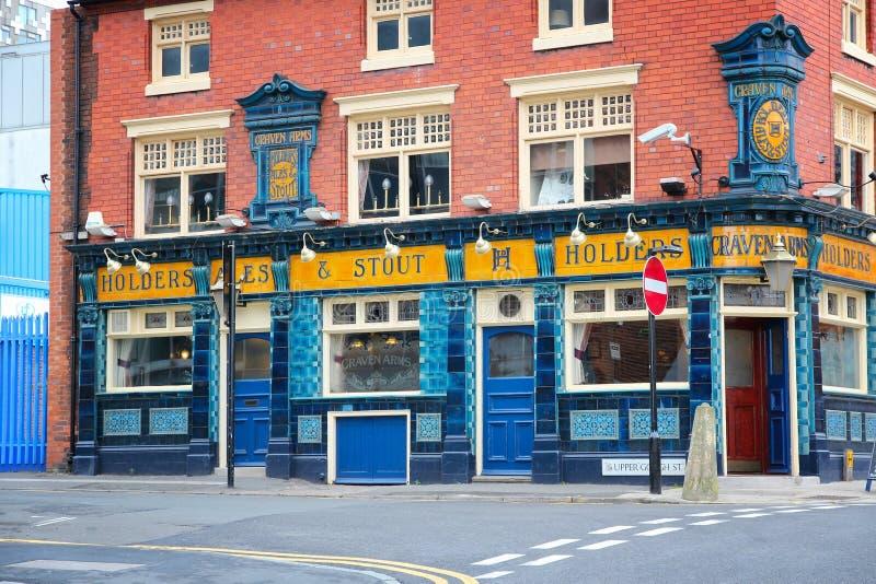 Bar i UK arkivbild