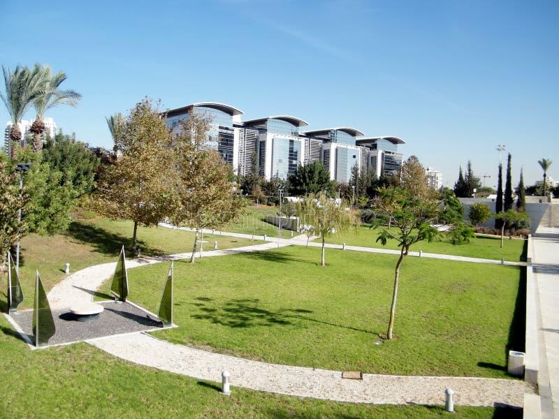 Bar-Ilan University the Dahan Park 2010 stock images