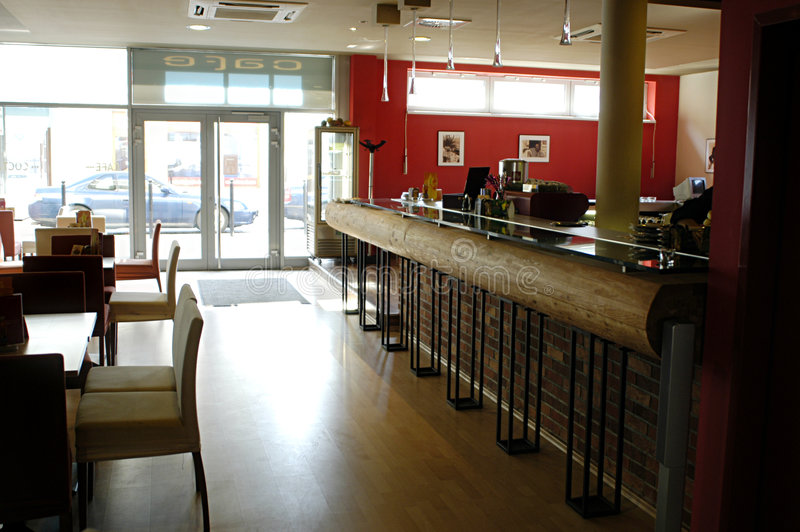 Bar interior stock photography