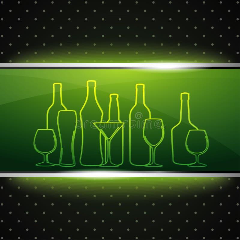 Bar List Design Stock Images