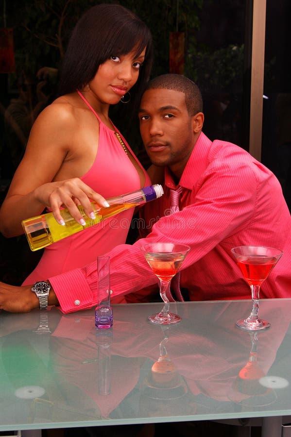 bar nocy doglądać zdjęcie royalty free