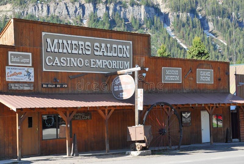 Bar ocidental, cozinheiro City, parque nacional de Yellowstone, Montana imagem de stock royalty free