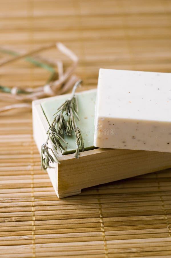 Free Bar Of Herbal Soap Stock Photo - 13853880
