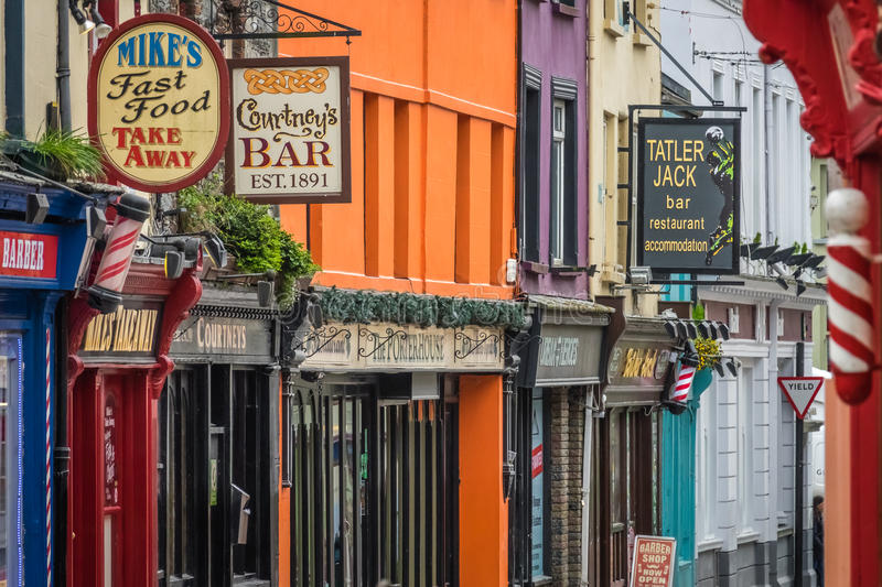 Bar and pubs signs stock image