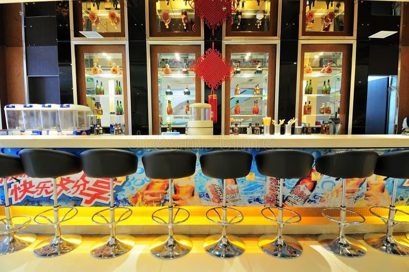 Bar, restaurant et Bistros image libre de droits