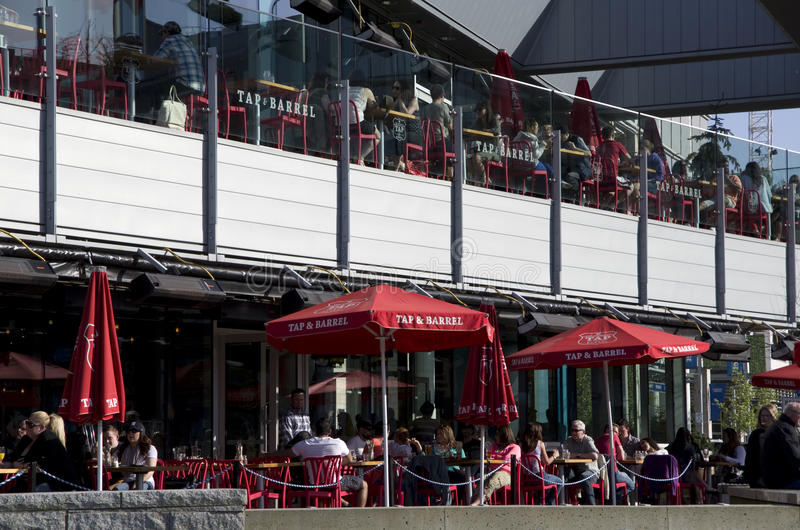 Bar restaurant happy hour royalty free stock photography
