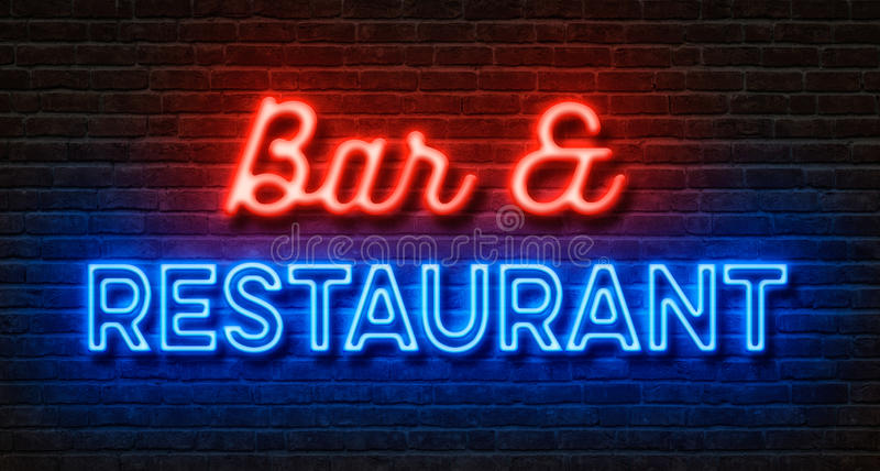 Bar and Restaurant stock image