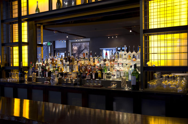 Bar restaurant stock photo
