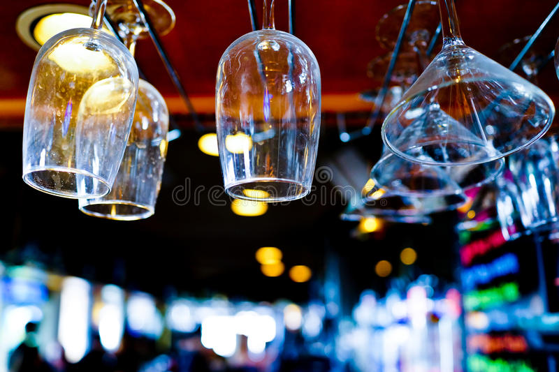Bar Scene. This image of a bar scene was captured in Carlsbad, California royalty free stock photos