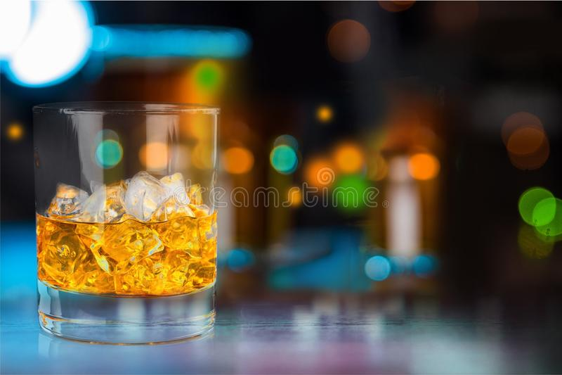 Bar. Shop blurred work beer pub hipster royalty free stock images