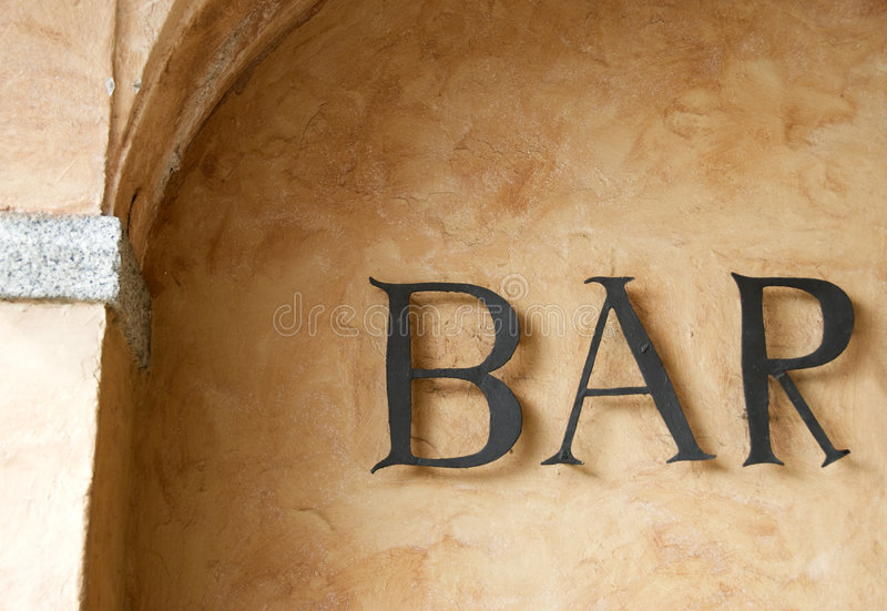 Download Bar sign stock image. Image of illuminated, club, city - 4608539