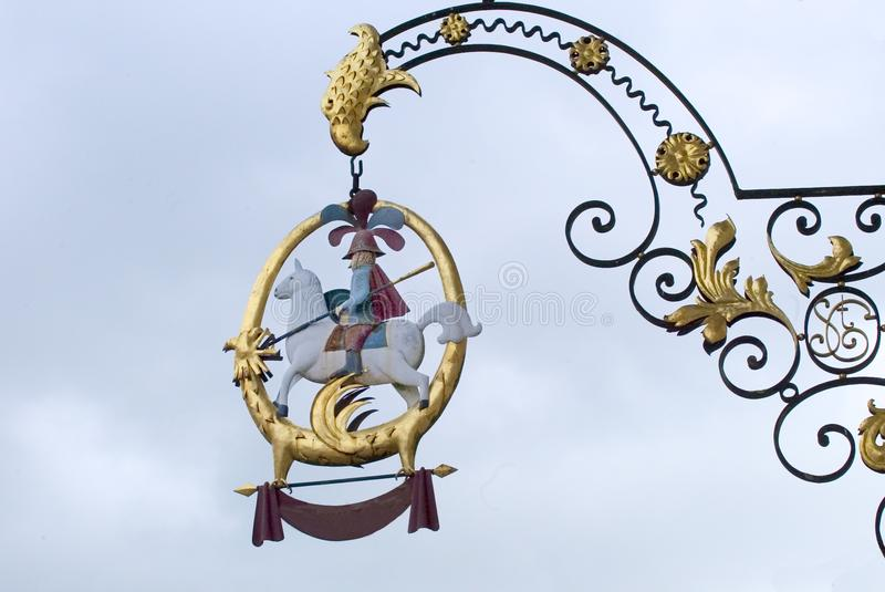 Download Bar sign stock photo. Image of decorative, france, spear - 59194