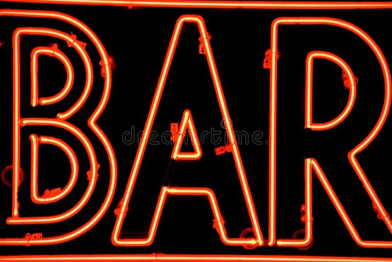 Bar sign royalty free stock image