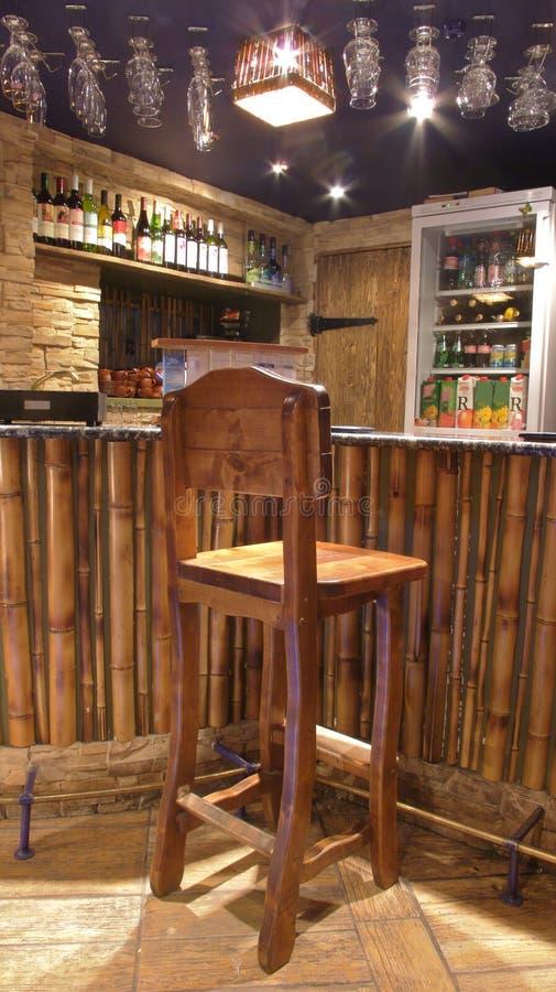 Bar stools. royalty free stock photo