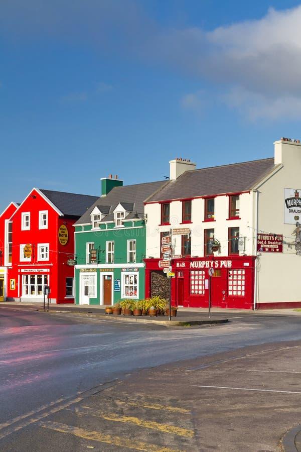 Bar tradicional de Murphys do irlandês no Dingle fotos de stock