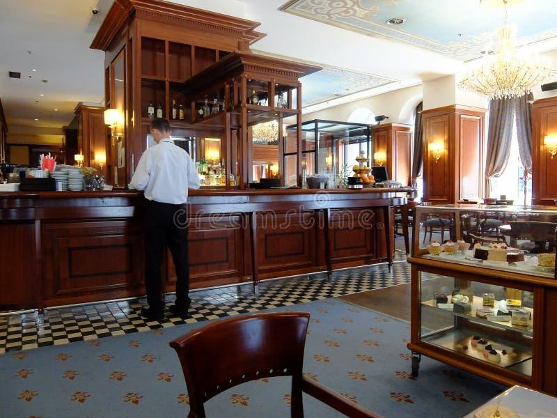 Bar viennese fotografia stock libera da diritti