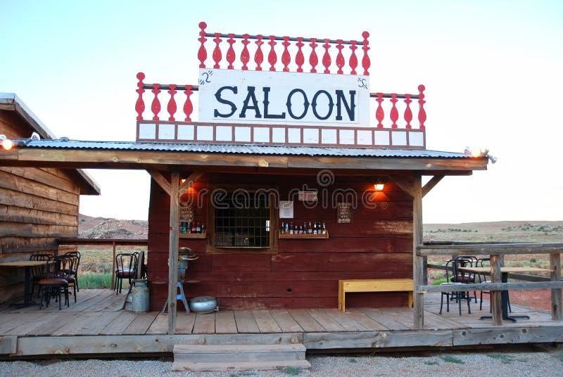 Bar w amerykańskiej prerii obrazy stock