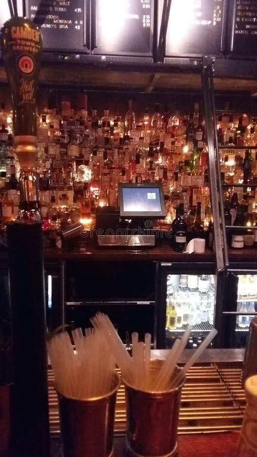 Bar w Londyńskim pubie obrazy royalty free