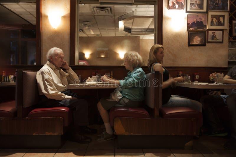 Bar w Nowy Jork mieście zdjęcie royalty free