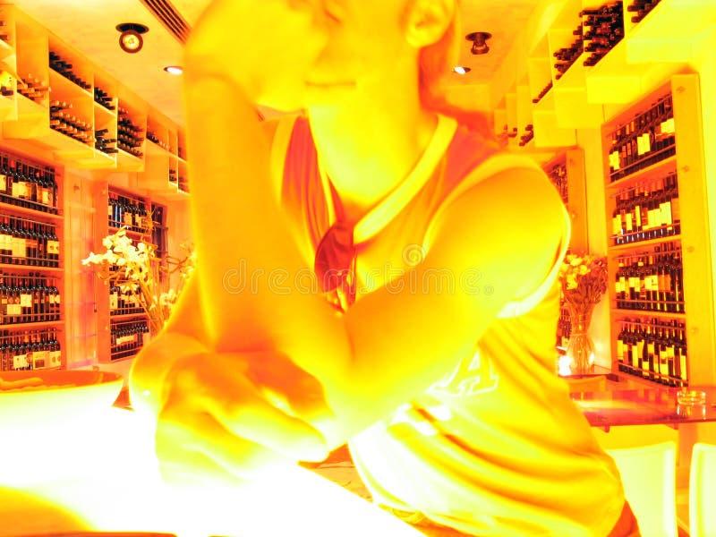 bar wino zdjęcia stock