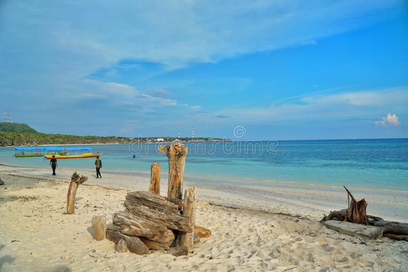 Bara Beach, Bulukumba, Indonesië royalty-vrije stock fotografie