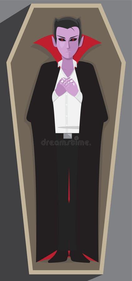 Bara di Dracula royalty illustrazione gratis