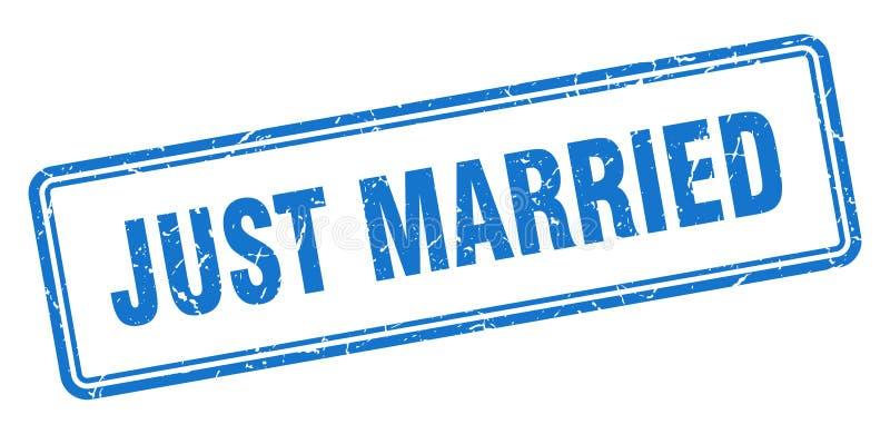 bara gift st?mpel stock illustrationer