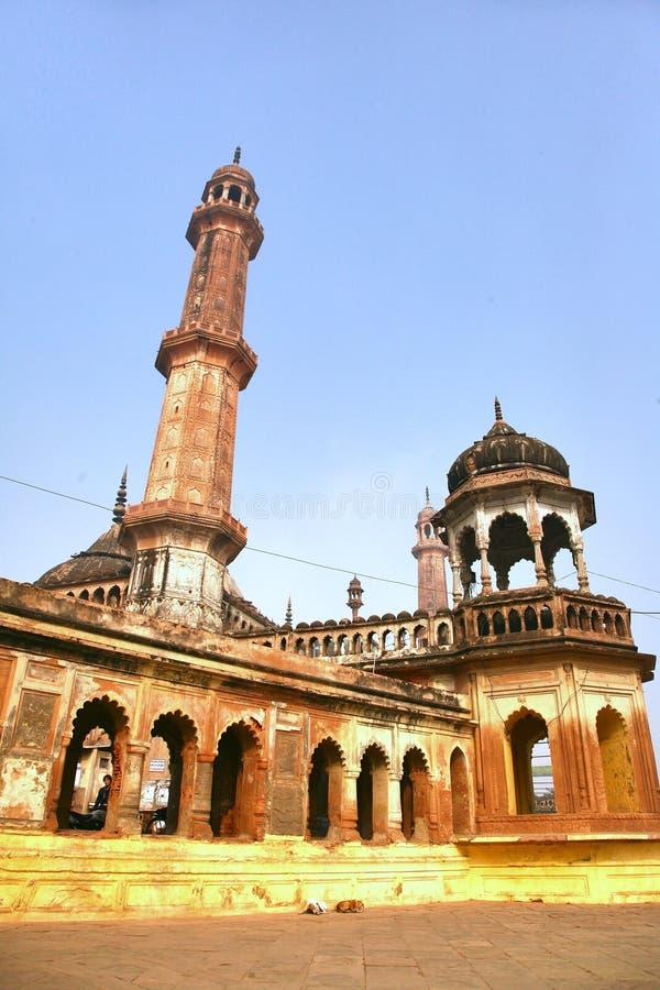 Bara Imambara é um complexo do imambara em Lucknow, Índia fotos de stock royalty free