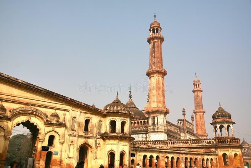 Bara Imambara é um complexo do imambara em Lucknow, Índia imagem de stock royalty free