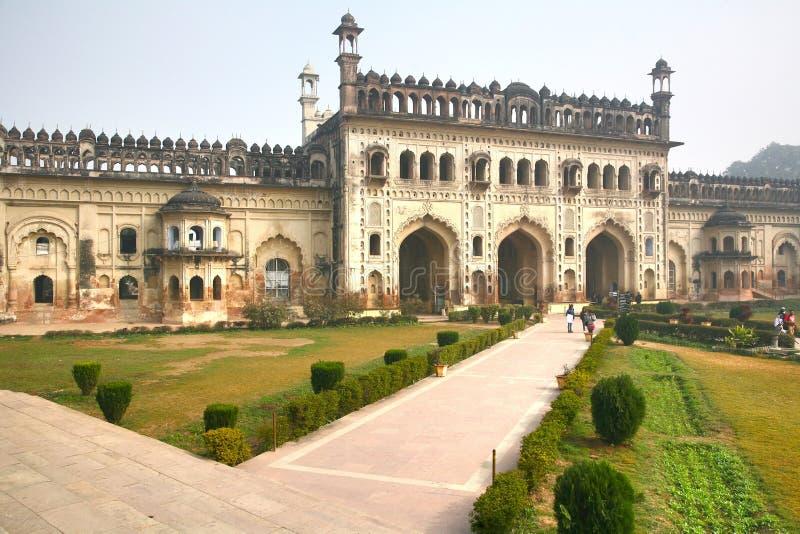 Bara Imambara комплекс imambara в Лакхнау, Индии стоковое изображение