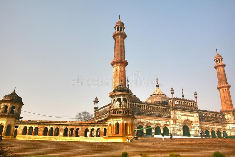 Bara Imambara комплекс imambara в Лакхнау, Индии стоковое фото