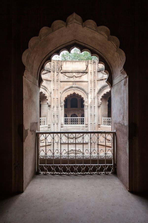 Bara Imambara, Лакхнау стоковое изображение