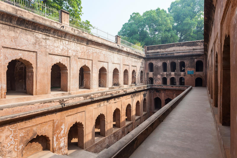 Bara Imambara, Лакхнау стоковая фотография rf