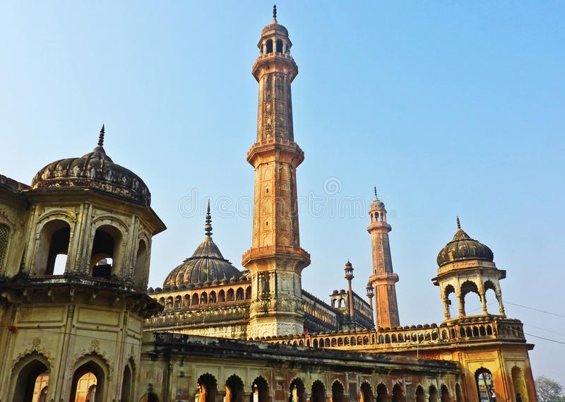 Bara Imambara in Lucknow royalty-vrije stock foto's
