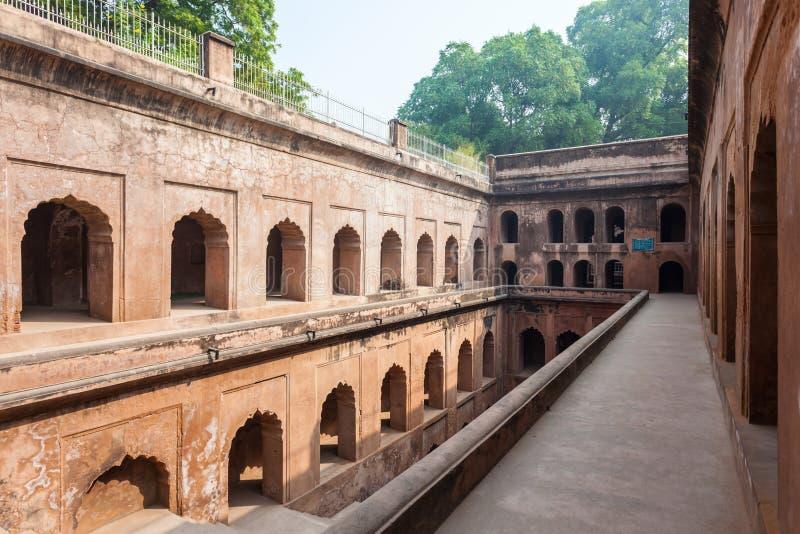 Bara Imambara, Lucknow fotografia stock libera da diritti