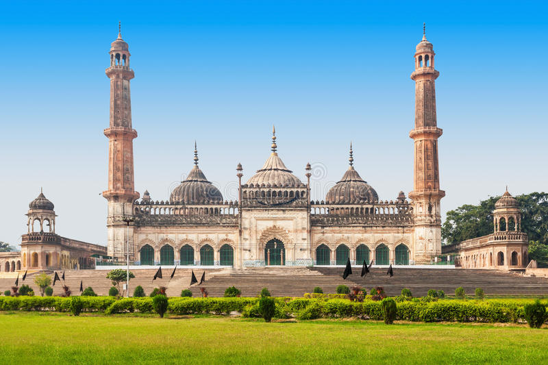 Bara Imambara, Lucknow. The Asfi Mosque, located near the Bara Imambara in Lucknow, India royalty free stock photography
