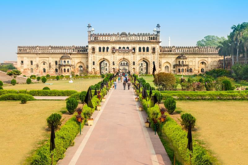 Bara Imambara, Lucknow. Bara Imambara is an imambara complex in Lucknow, Uttar Pradesh in India royalty free stock image